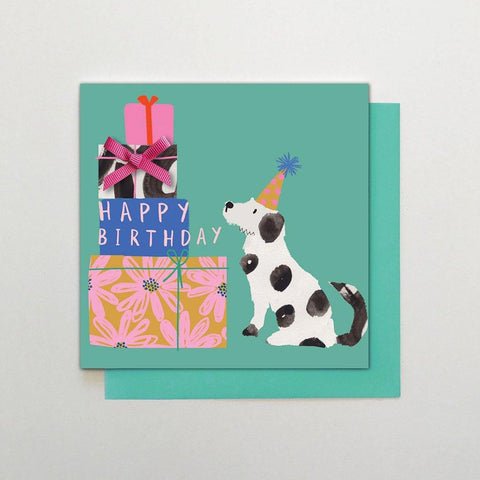 Birthday Dogs & Presents Card - insideout-home