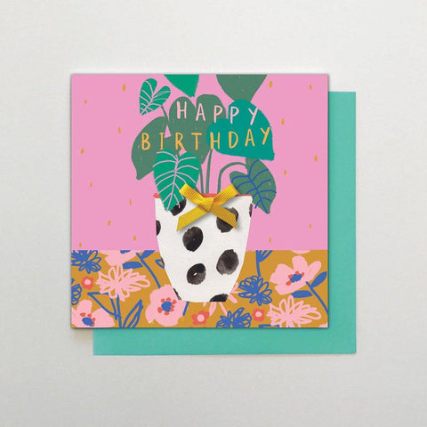 Birthday Plant Card - insideout-home