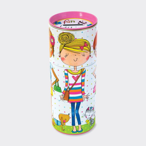 3 Tiered Swivel Money Box Tin - Fun & Fashion - insideout-home