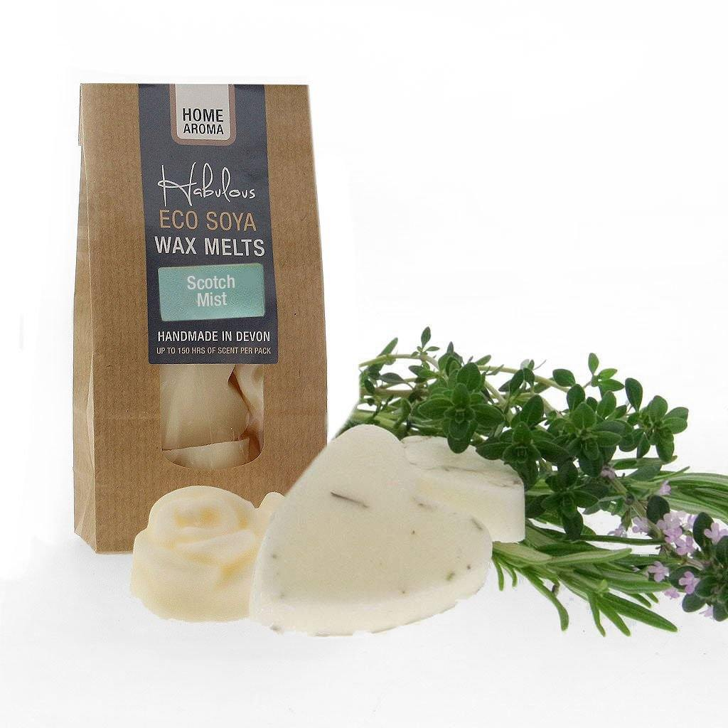 Scotch Mist Eco Soya Wax Melts Pack, Raw Candle Wax by Insideout