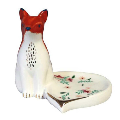 Secret Garden Fox Dish - insideout-home