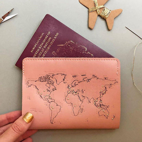 Pink Passport Cover - insideout-home
