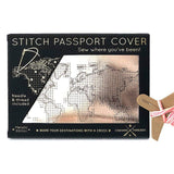 Rose Gold Passport Cover - insideout-home