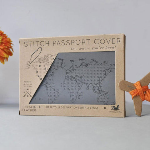 Grey Passport Cover - insideout-home