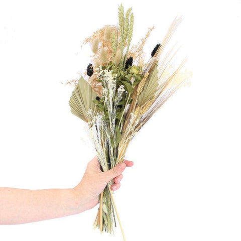 Dried Wildflower Field Bouquet Small Natural - insideout-home