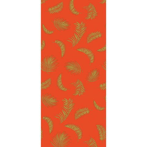Tropical Orange Gift Wrap - insideout-home