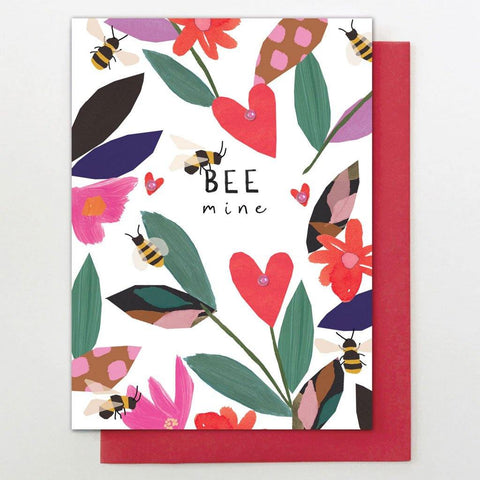 Bee Mine Card - insideout-home