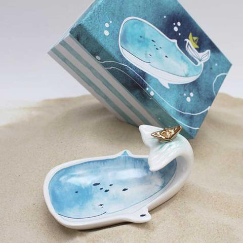 Sea Whale Dish - insideout-home