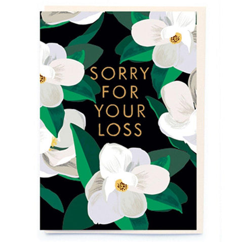 Sorry For Your Loss Card - insideout-home