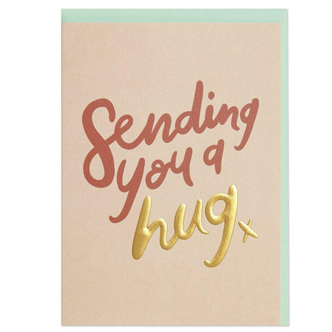 Sending You A Hug Card - Insideout