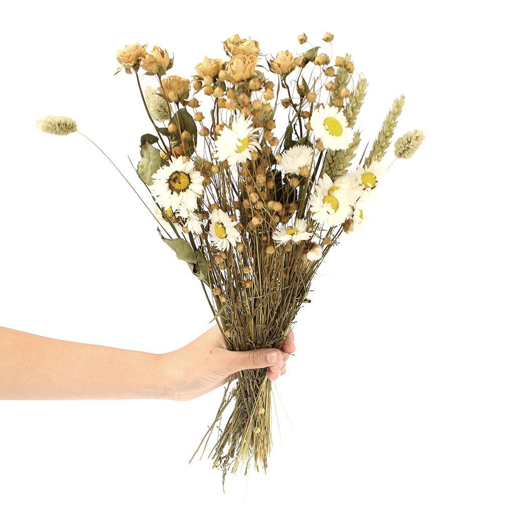Dried Wildflower Mixed Bunch Natural by  Insideout