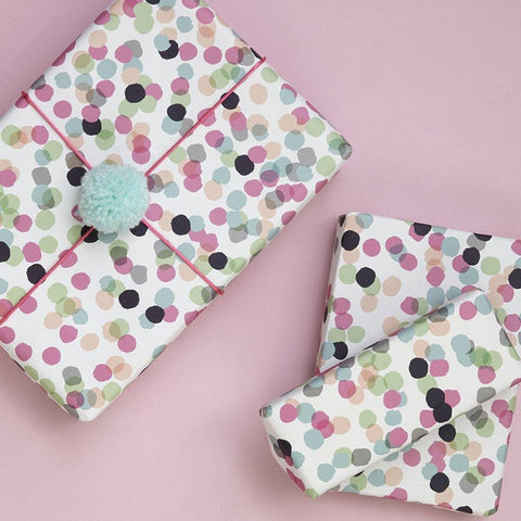 Dotty Canvas Wrap