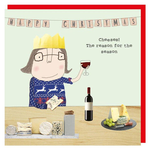 Cheeses The Reason For Season Card - insideout-home