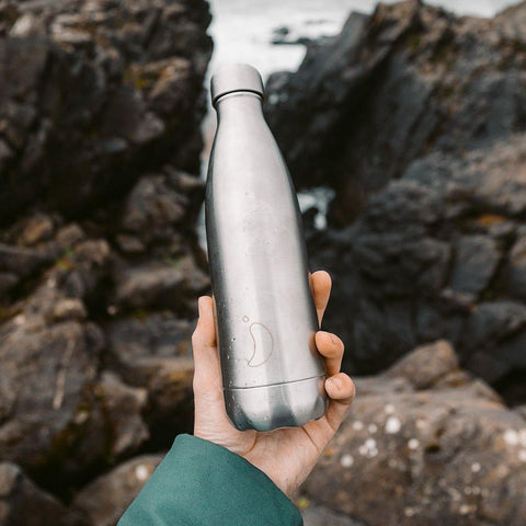 Chilly's Bottle 500ml Stainless Steel - Insideout