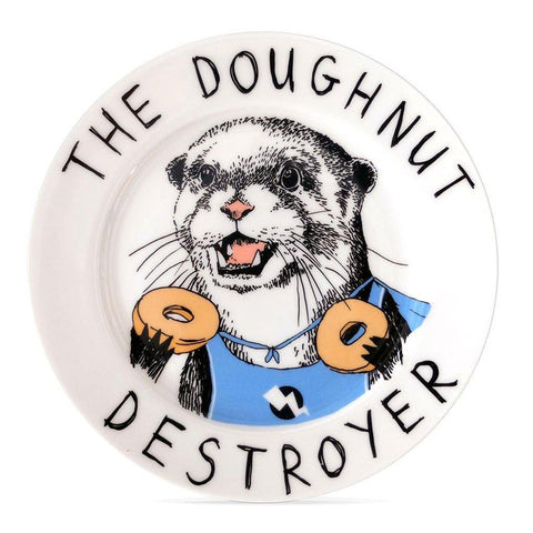 The Doughnut Destroyer Side Plate - insideout-home