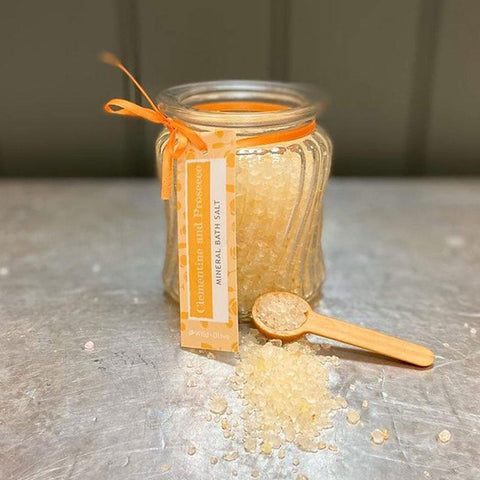 Bath Salts Jar Clementine & Prosecco - insideout-home