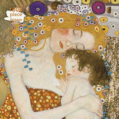 1000 Piece Jigsaw Three Ages Of Woman - Gustav Klimt - insideout-home