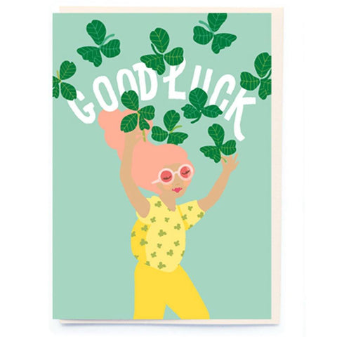Good Luck Card - insideout-home