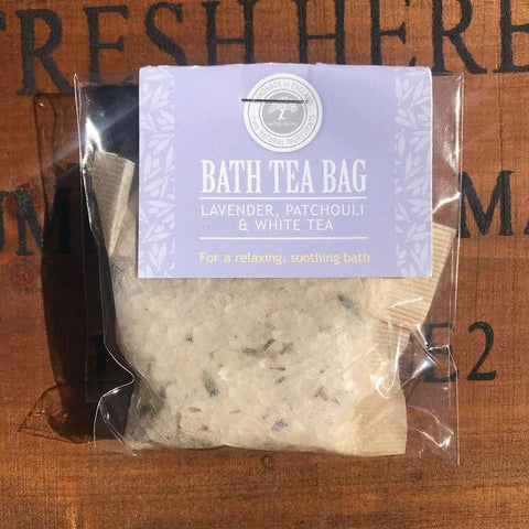 Bath Tea Bag Lavender, Patchouli & White Tea