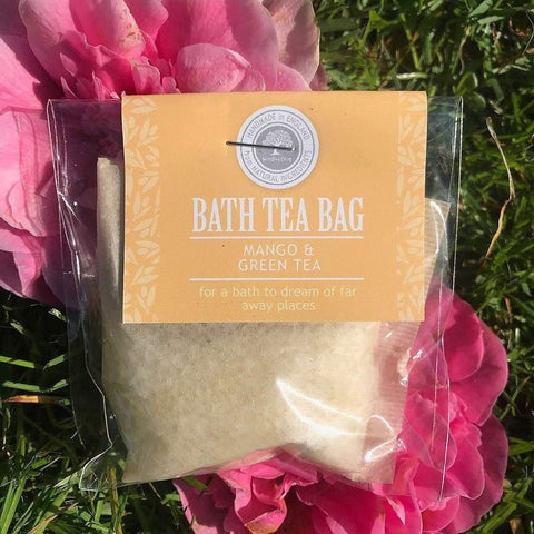 Bath Tea Bag Mango & Green Tea