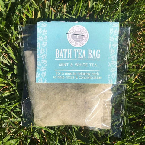 Bath Tea Bag Mint & White Tea