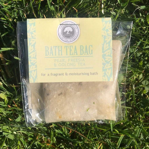 Bath Tea Bag Pear, Freesia & Oolong Tea