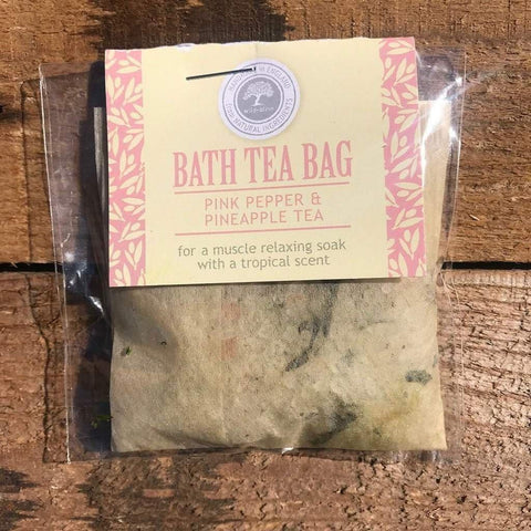 Bath Tea Bag Pink Pepper & Pineapple Tea - insideout-home