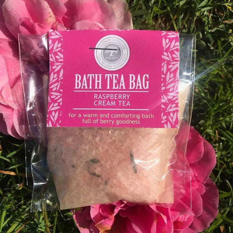 Bath Tea Bag Raspberry & Cream Tea