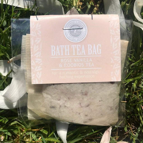 Bath Tea Bag Rose, Vanilla & Roobios Tea - insideout-home