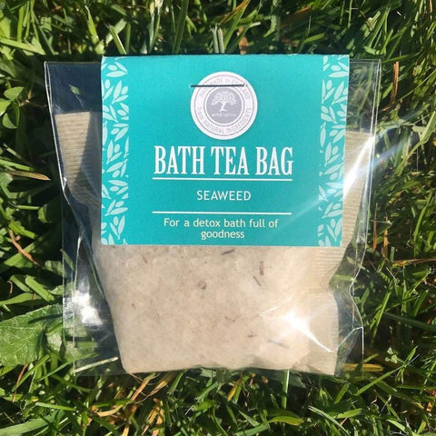 bath tea bag seaweed