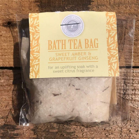 Bath Tea Bag Sweet Amber & Grapefruit Ginseng