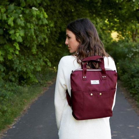 Voyage Billie Backpack Plum - insideout-home
