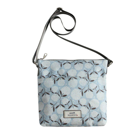 Big Bloom Oil Cloth Messenger Bag - insideout-home