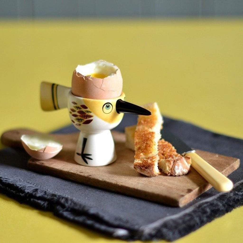 Bird Egg Cup Yellow by  Insideout