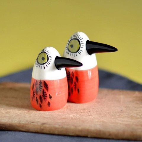 Birdlife Salt & Pepper Set Red