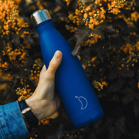 Chilly's Bottle Matte Blue 500ml - insideout-home