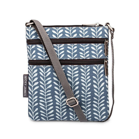 Vine Blue Mini Crossbody Bag - insideout-home