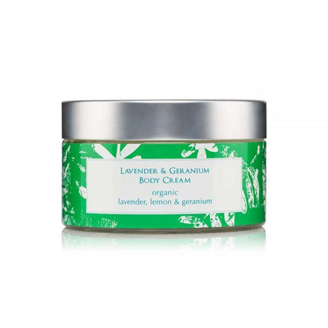 Lavender & Rose Geranium Body Cream 220g - insideout-home