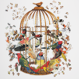 Bouquet Of Birds Jigsaw Puzzle 750 Pieces - insideout-home