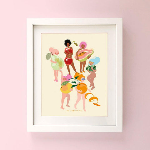 Fruit Nudies Print - insideout-home