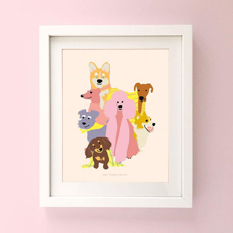 Loving Dogs Print - insideout-home