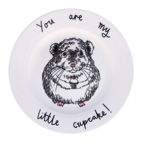 Chinchilla Cupcake Side Plate - insideout-home
