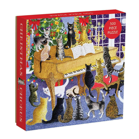 Christmas Chorus Jigsaw Puzzle 500 Pieces - insideout-home