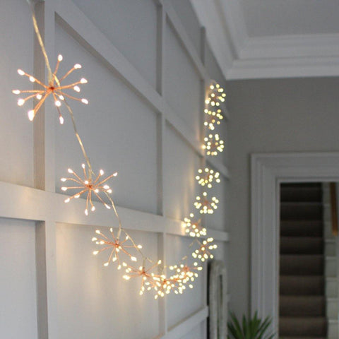 Mains Starburst Chain Copper - insideout-home