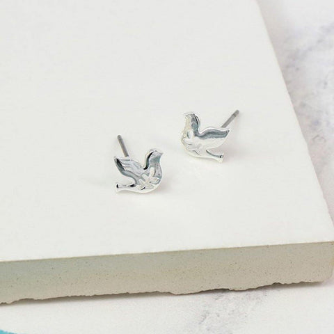 Flying Dove Studs - insideout-home