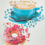 Daily Special Doughnut And Coffee Puzzle Set 625 Pieces - insideout-home