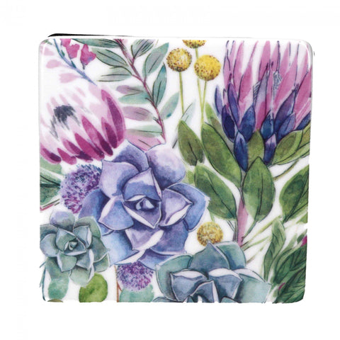 Desert Blooms Square Coaster - insideout-home