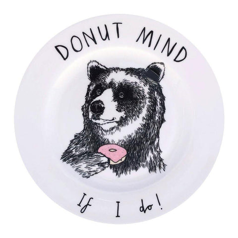 Donut Mind If I Do Side Plate - insideout-home