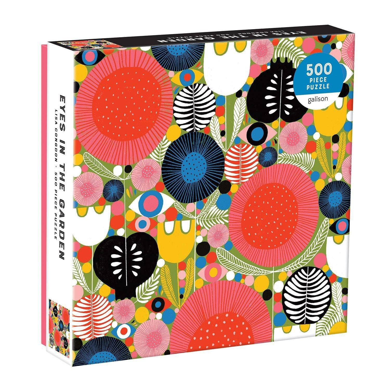 Eyes In The Garden 500 Piece Jigsaw Puzzle, Toys & Games by Insideout