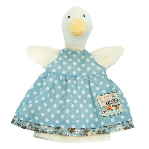 Jeanne The Duck Hand Puppet - insideout-home